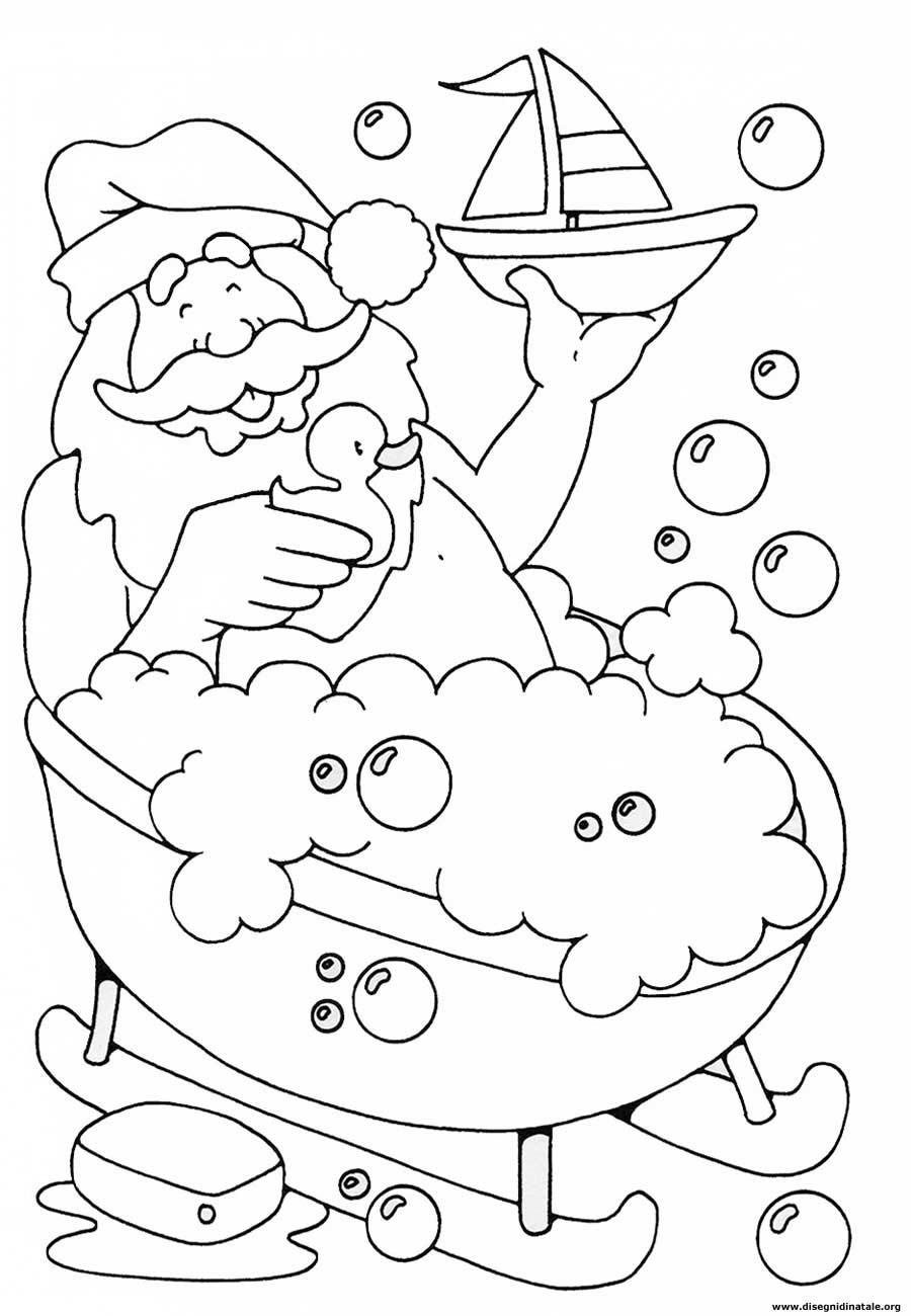 Disegni babbo natale disegni babbo natale da colorare for Disegni natale da colorare
